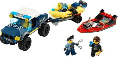 Набор LEGO 60272 Elite Police Boat Transport