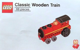 Набор LEGO 6258623 60th Anniversary Classic Wooden Train