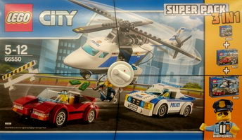 Набор LEGO 66550 CITY Police Value Pack