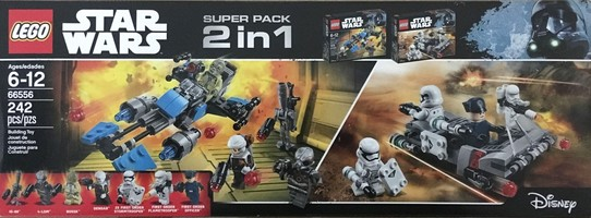 Набор LEGO 66556 Super Pack 2 in 1