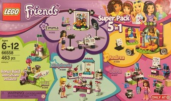 Набор LEGO 66558 Friends Super Pack 66558 - Target Exclusive