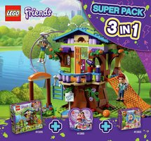 Набор LEGO 66620 Friends Super Pack 3-in-1