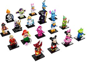 Набор LEGO 71012-19 LEGO Minifigures - The Disney Series - Complete
