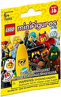 Набор LEGO 71013-0 LEGO Minifigures - Series 16 (Random bag)