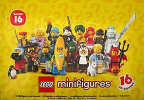 Набор LEGO 71013-18 LEGO Minifigures - Series 16 - Sealed Box