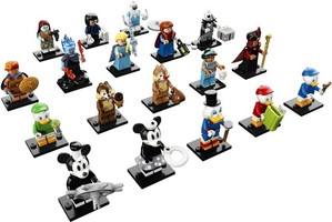 Набор LEGO 71024-19 LEGO Minifigures - The Disney Series 2 - Complete
