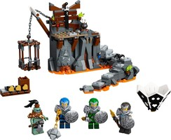 Набор LEGO 71717 Journey to the Skull Dungeons