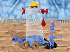 Набор LEGO 7443 Stretchy's Junk Cart