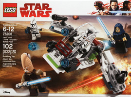 Набор LEGO 75206 Jedi and Clone Troopers Battle Pack
