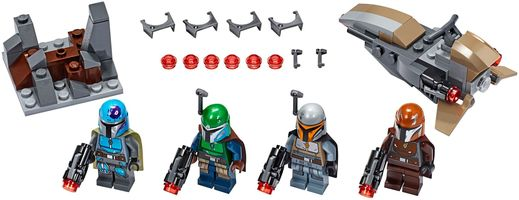 Набор LEGO 75267 Mandalorian Battle Pack