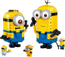 Набор LEGO 75551 Brick-Built Minions and Their Lair