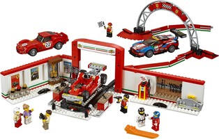 Набор LEGO 75889 Ferrari Ultimate Garage