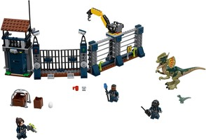 Набор LEGO 75931 Dilophosaurus Outpost Attack