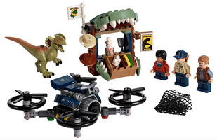 Набор LEGO 75934 Dilophosaurus on the Loose