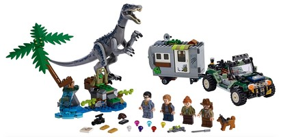 Набор LEGO 75935 Baryonyx Face-Off: The Treasure Hunt