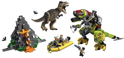 Набор LEGO 75938 T. rex vs Dino-Mech Battle