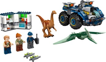 Набор LEGO 75940 Gallimimus and Pteranodon Breakout