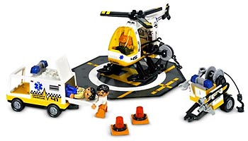 Набор LEGO 7841 Helicopter Rescue Unit
