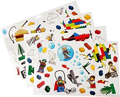 Набор LEGO 851402 Wall Stickers