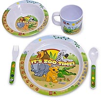 Набор LEGO 851617 LEGOville Zoo Dinner Set