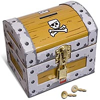 Набор LEGO 851936 Treasure Chest Coin Bank