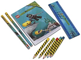 Набор LEGO 851954 Aqua Raiders Stationery Set