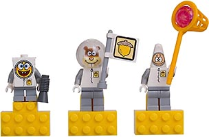 Набор LEGO 852547 SpongeBob Spacesuit Magnet Set