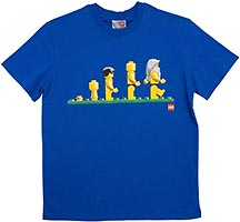 Набор LEGO 852810 Evolution of the Minifigure T-Shirt