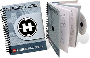Набор LEGO 853083 HERO Factory Misson Log Book