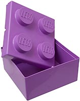 Набор LEGO 853381 2x2 LEGO Box Purple