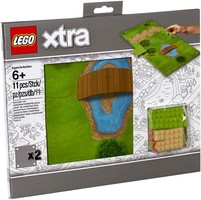 Набор LEGO 853842 Play Mats Grass