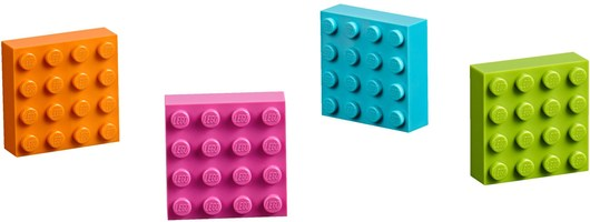 Набор LEGO 853900 4x4 Brick Magnets