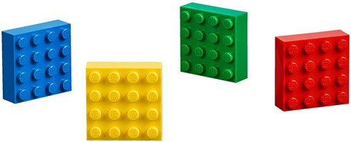 Набор LEGO 853915 4x4 Brick Magnets Classic