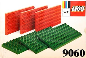 Набор LEGO 9060 Small Duplo Building Plates