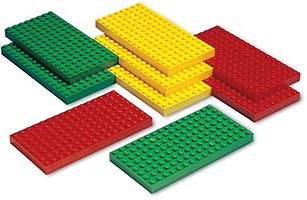 Набор LEGO 9279 Small Lego System Baseplates