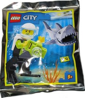 Набор LEGO 952019 Scuba Diver and Shark