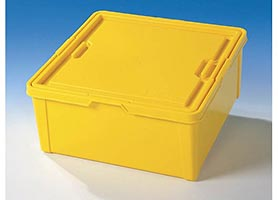 Набор LEGO 9920 X-Large Yellow Storage Bin (17in x 17in x 7.5in)