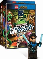 Набор LEGO DCSHDVD4 Gotham City Breakout DVD/Blu-ray