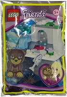 Набор LEGO FR561701 Bear in Ice Cave foil pack