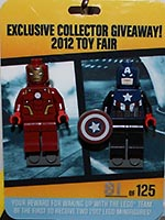 Набор LEGO LCP2012 Iron Man & Captain America (2012 Collectors Preview)
