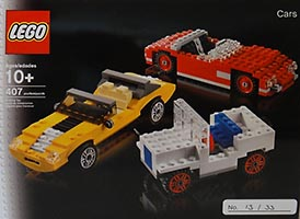 Набор LEGO LIT2010 LEGO Inside Tour (LIT) Exclusive 2010 Edition - Cars