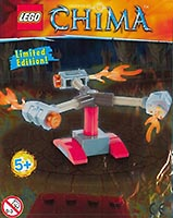 Набор LEGO LOC391407 Fire Spinner foil pack