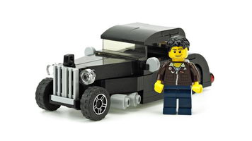 Набор LEGO MOC-10022 Black Hot Rod