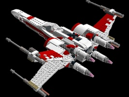 Набор LEGO MOC-10127 Red Squadron T-70 X-Wing