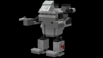 Набор LEGO MOC-10145 Fast Light Mecha