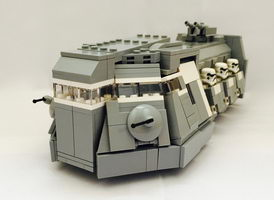 Набор LEGO MOC-10166 ITT (Imperial Troop Transport)  - Minifig's scale
