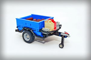 Набор LEGO MOC-10196 Off-road trailer