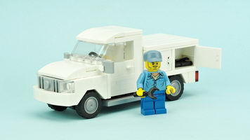 Набор LEGO MOC-10200 Utility and Service Truck