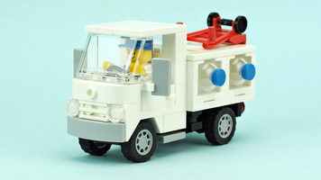 Набор LEGO MOC-10248 Bottled water delivery truck
