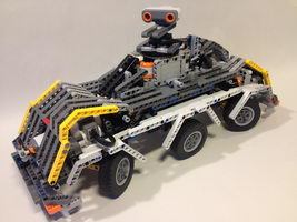 Набор LEGO MOC-10265 6x6x4 Robot vehicle v1.1